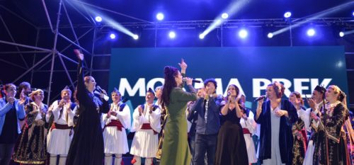 4.The grand finale – all singers sing together for the protection of Europe's last wild river (c) Moris Rama