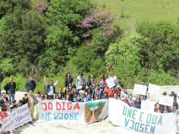 The residents of the Vjosa valley say NO DAMS in Vjosa